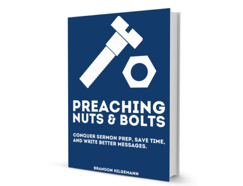 I Revised My Preaching Book and I Want to Give it to You for FREE