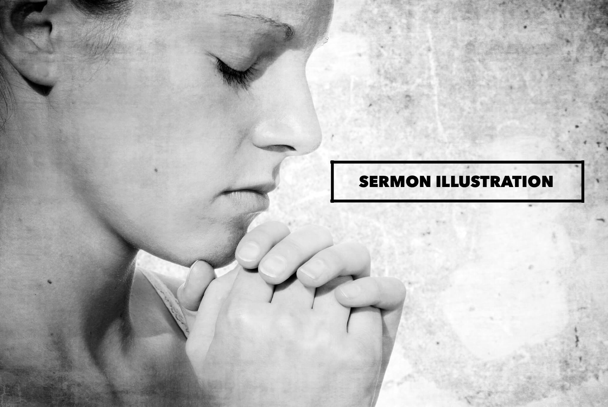 sermon illustration on prayer