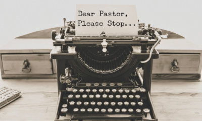 things pastors need to stop doing