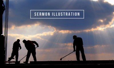 sermon illustration on serving, mopping the floor to put a man on the moon