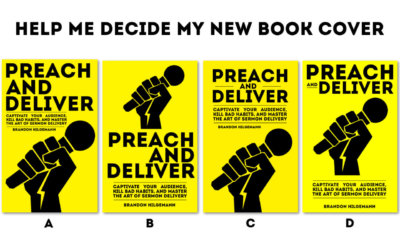 Preach and Deliver Book Cover Options