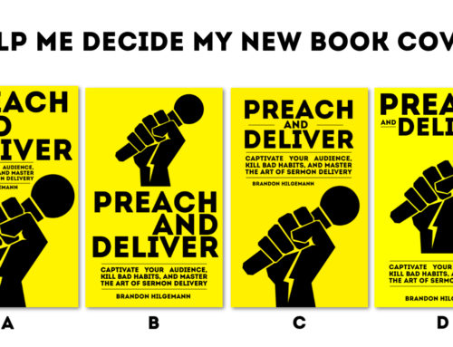 Help Me Decide My New Preaching Book's Cover