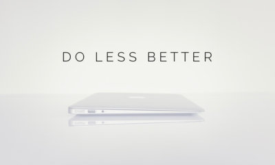 do less better: what if the key to productivity is doing less, not more?