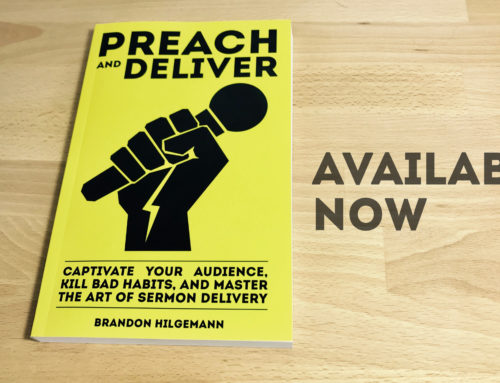 Preach and Deliver is Available Now! (With a Limited Time Bonus Offer)