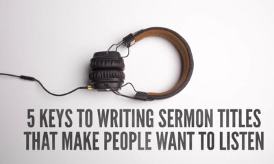 how to write good sermon titles