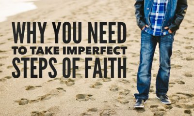 take imperfect steps of faith
