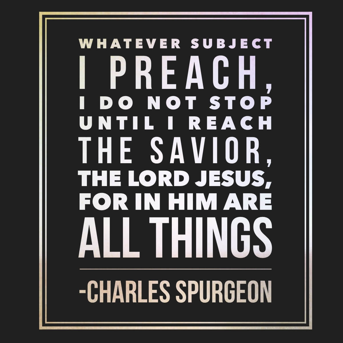 If You Arent Preaching Jesus You Arent Done Preaching Pro Preacher
