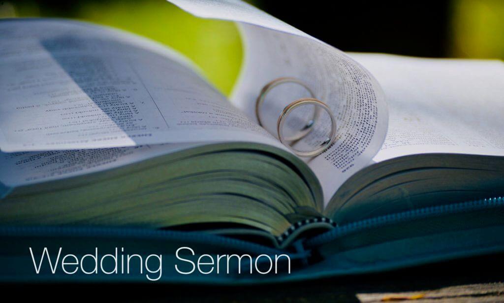 Free Wedding Sermon