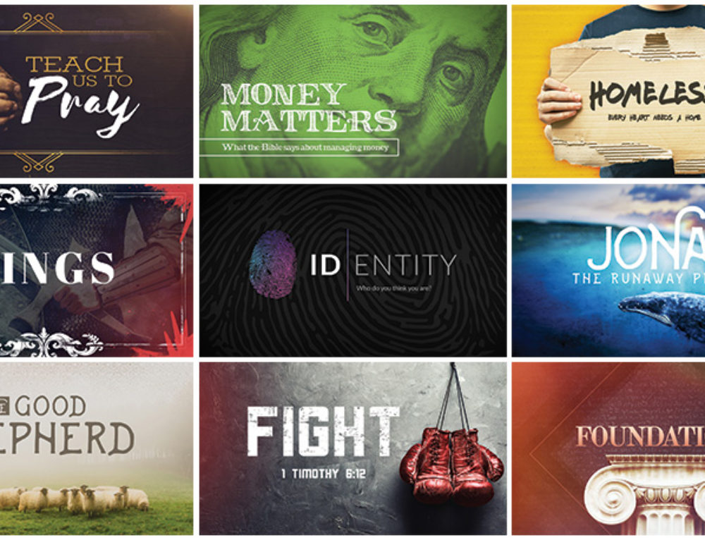 Rethinking Church Graphics (Bonus: 9 Free Sermon Series Graphics)