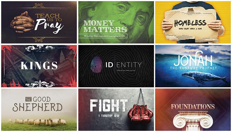 Rethinking Church Graphics (Bonus: 9 Free Sermon Series Graphics