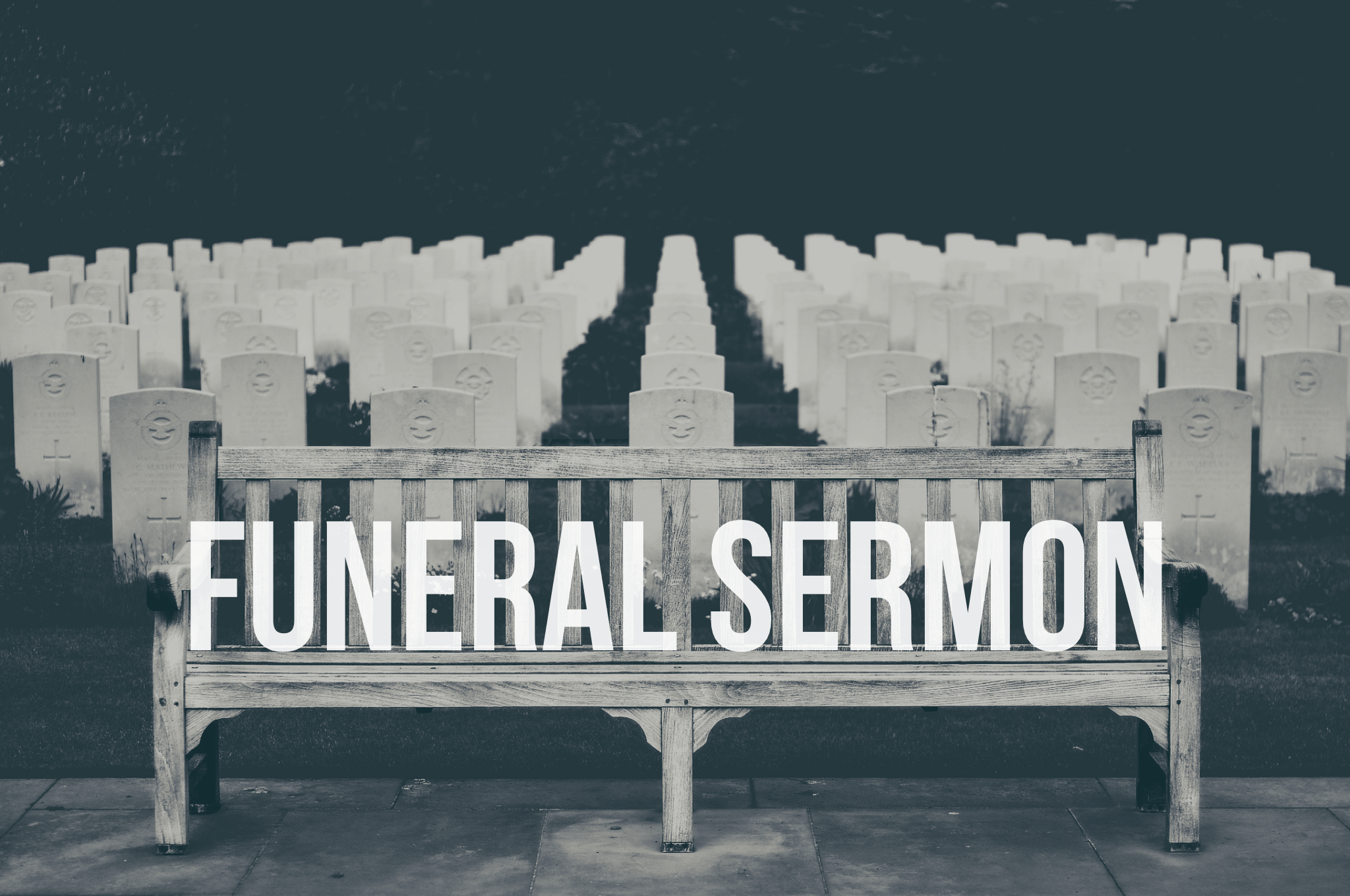 photo relating to Printable Baptist Sermons called No cost Funeral Sermon - Professional Preacher