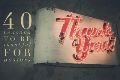 thankful for pastors