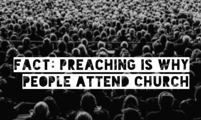 preaching is why people attend church