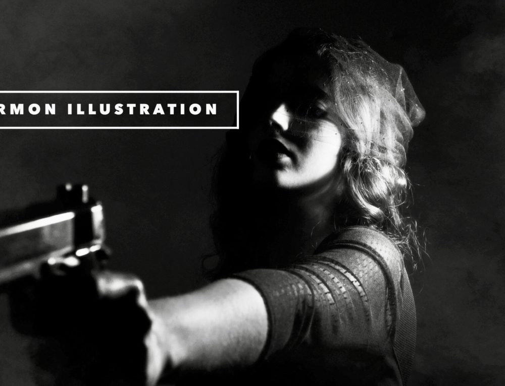 Impatient Mother Pulls Gun On Son's Barber (sermon illustration)
