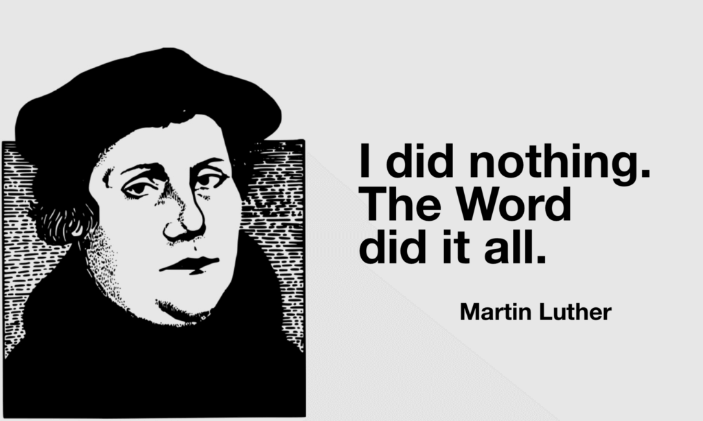 How To Preach Well According To Martin Luther Pro Preacher
