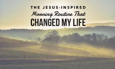 jesus inspired morning routine