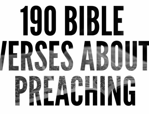190 Bible Verses About Preaching